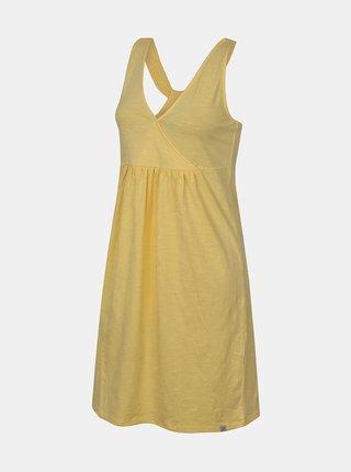 Žluté dámské letní šaty Hannah