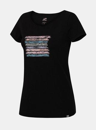Čierne dámske tričko Hannah