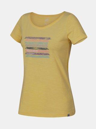 Žluté dámské tričko Hannah