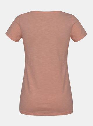 Meruňkové dámské tričko Hannah