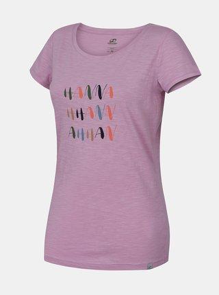 Fialové dámske tričko Hannah