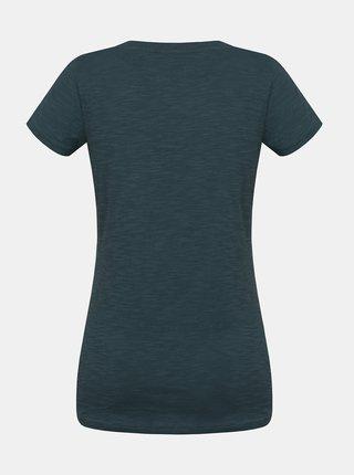 Zelené dámské tričko s potiskem Hannah