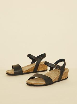 Černé dámské sandálky OJJU