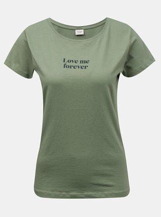 Zelené tričko Jacqueline de Yong Chicago