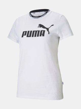 Bílé dámské tričko s potiskem Puma