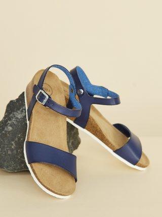 Tmavě modré dámské sandálky OJJU