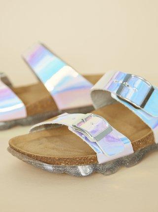 Holografické dámské pantofle OJJU