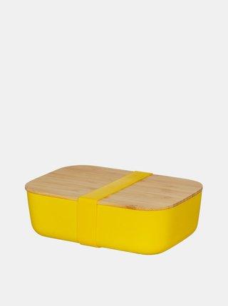 Žlutý box na jídlo Sass & Belle