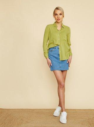 Svetlozelená dámska košeľa ZOOT Felisa