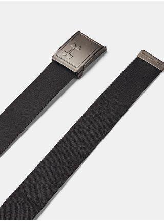 Pásek Under Armour Men's Webbing 2.0 Belt - šedá