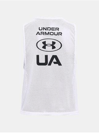 Tílko Under Armour HG Armour Muscle Msh Tank - bílá