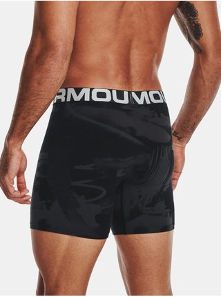 Boxerky Under Armour CC 6in Novelty 3 Pack - černá