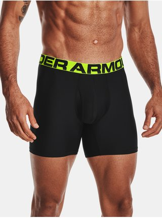 Boxerky Under Armour Tech 6in 2 Pack - černá