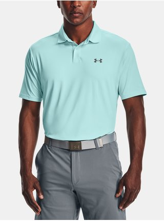 Tričko Under Armour Performance Polo 2.0 - modrá