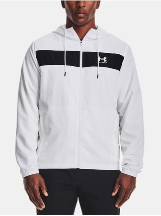 Bunda Under Armour SPORTSTYLE WINDBREAKER - bílá