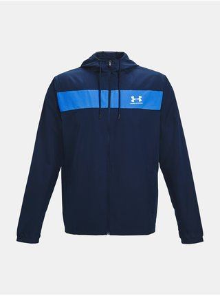Bunda Under Armour SPORTSTYLE WINDBREAKER - tmavě modrá