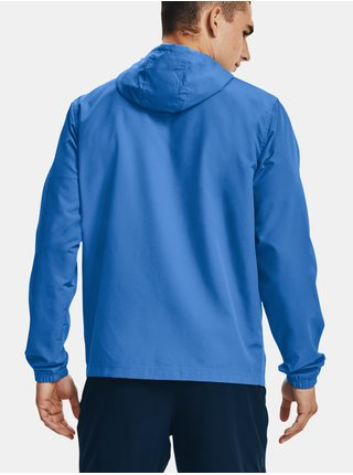 Bunda Under Armour SPORTSTYLE WINDBREAKER - modrá