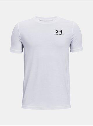Tričko Under Armour Cotton SS - bílá