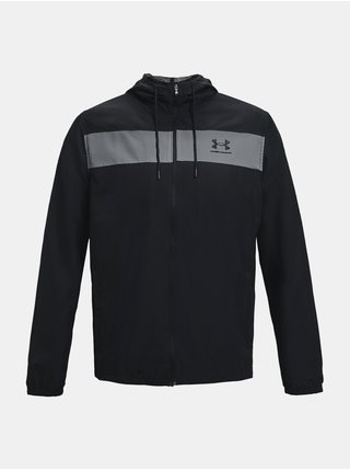 Bunda Under Armour SPORTSTYLE WINDBREAKER - černá
