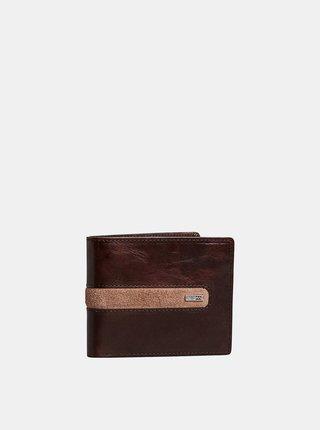 Billabong DBAH LEATHER CHOCOLATE pánská značková peněženka - hnědá