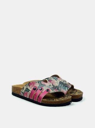 Calceo farebné šľapky Casual Slippers Hibiscus