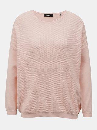 Svetloružový dámsky sveter ZOOT Morgan