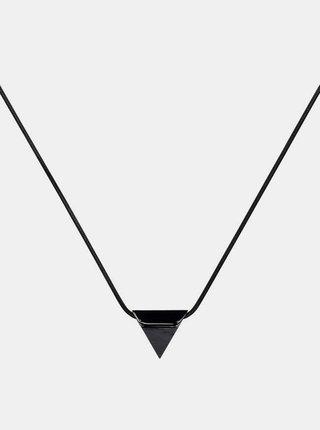 Náhrdelník s dřevěným detailem Nox Necklace Triangle BeWooden