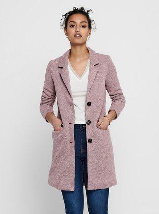 Růžový kabát Jacqueline de Yong Besty