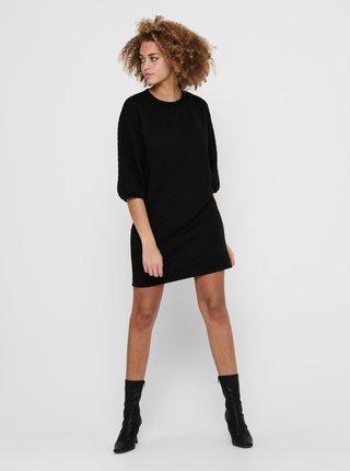Černé mikinové šaty Jacqueline de Yong Napa