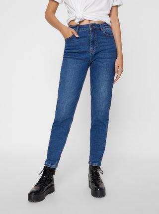 Modré mom džíny Pieces Kesia