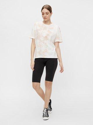 Černé krátké legíny Pieces Biker shorts