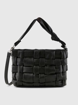 Čierna crossbody kabelka Pieces Jiread