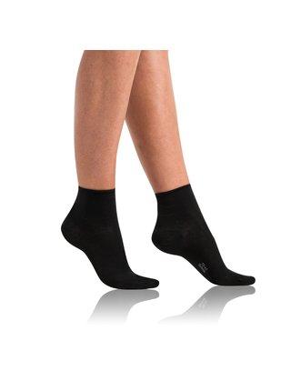 Dámské bio ponožky GREEN ECOSMART COMFORT SOCKS - Dámské ponožky z bio bavlny s netlačícím lemem - černá