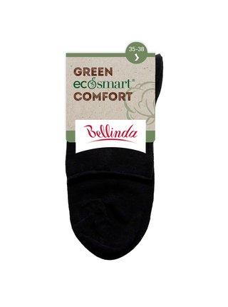 Dámské bio ponožky GREEN ECOSMART COMFORT SOCKS - Dámské ponožky z bio bavlny s netlačícím lemem - bílá