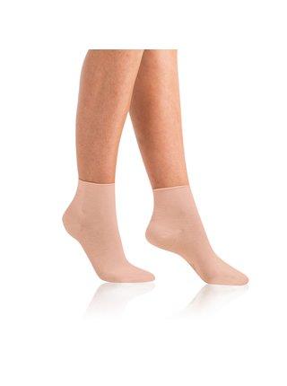 Dámské bio ponožky GREEN ECOSMART COMFORT SOCKS - Dámské ponožky z bio bavlny s netlačícím lemem - růžová