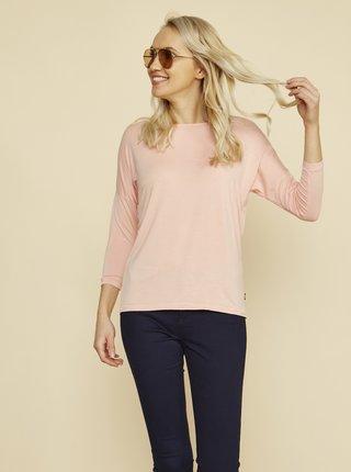 Světle růžové dámské tričko ZOOT Baseline Kirra
