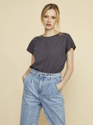 Šedé dámské dlouhé tričko ZOOT Leah