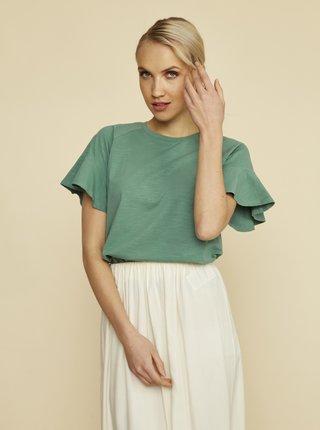 Zelené dámské tričko ZOOT Aurelia