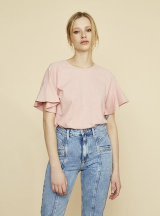 Svetloružové dámske tričko ZOOT Aurelia