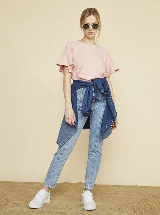 Světle růžové dámské tričko ZOOT Aurelia