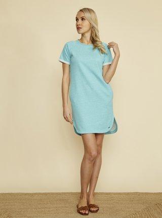 Tyrkysové šaty ZOOT Baseline Mandy