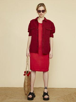 Červené šaty ZOOT Baseline Bambina