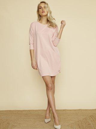 Světle růžové šaty s kapsami ZOOT Baseline Serena 2