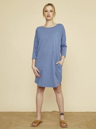Modré šaty s kapsami ZOOT Baseline Serena 2