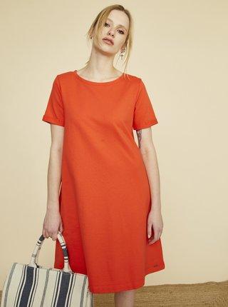 Červené šaty s kapsami ZOOT Baseline Ambra