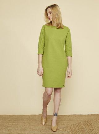 Zelené šaty s kapsami ZOOT Baseline Lola