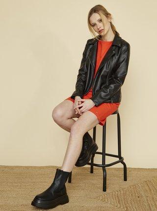Červené šaty s kapsami ZOOT Baseline Lola
