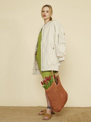 Zelené šaty s kapsami ZOOT Baseline Hana 2