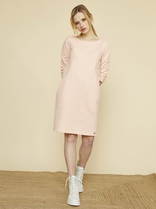 Meruňkové šaty s kapsami ZOOT Baseline Hana 2