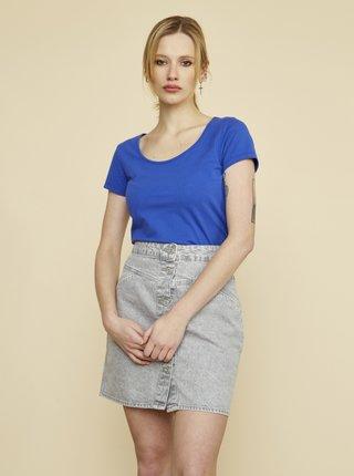 Modré dámské tričko ZOOT Baseline Nora